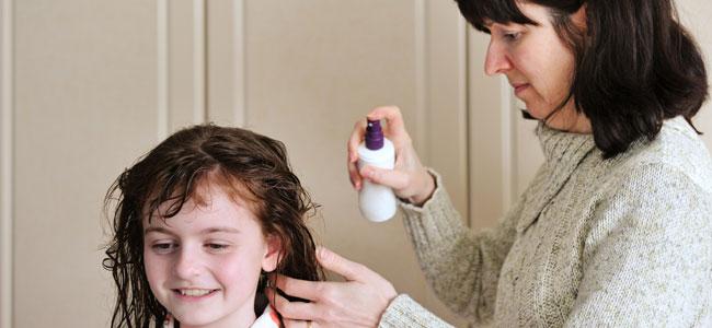 Tipos de repelente para combatir los piojos en niños