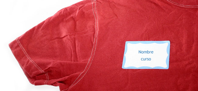 Cómo rotular o marcar la ropa de los niños escolares