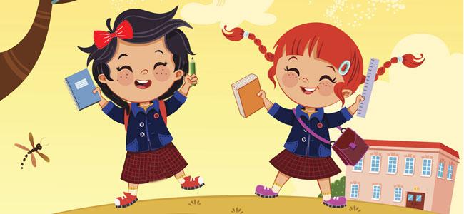 Sara y Lucía, un cuento para la vuelta al colegio