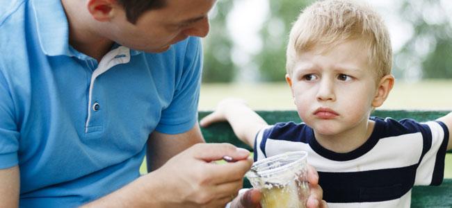 alimentacion para niños con bajo peso