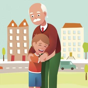 Cuento para niños sobre la muerte de los abuelos