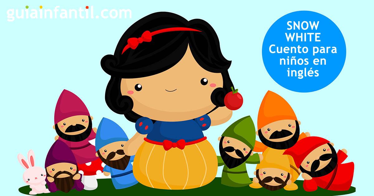 Snow White Cuentos Tradicionales En Inglés Para Niños