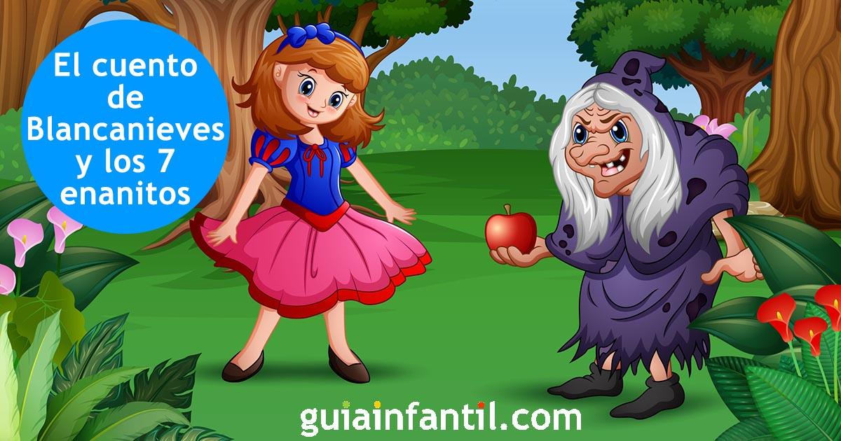 Blancanieves Y Los Siete Enanitos Cuentos Infantiles