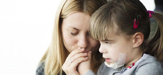 Los besos de mamá pueden curarlo y remediarlo todo