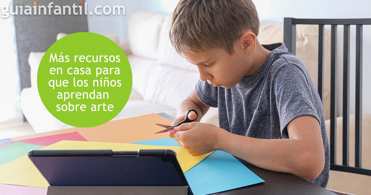 Recursos educativos para niños sobre arte