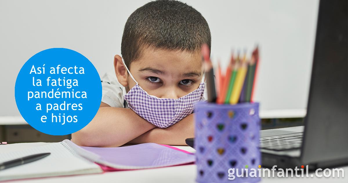 Qué es la fatiga pandémica por coronavirus para los niños