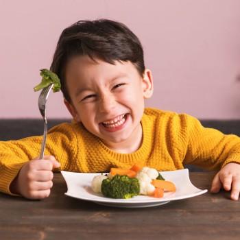 Las 7 mejores verduras para los niños