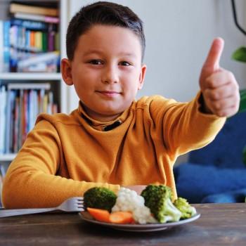 Menú semanal para tratar la obesidad infantil