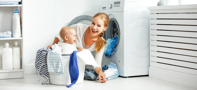 Detergente para la ropa del bebé