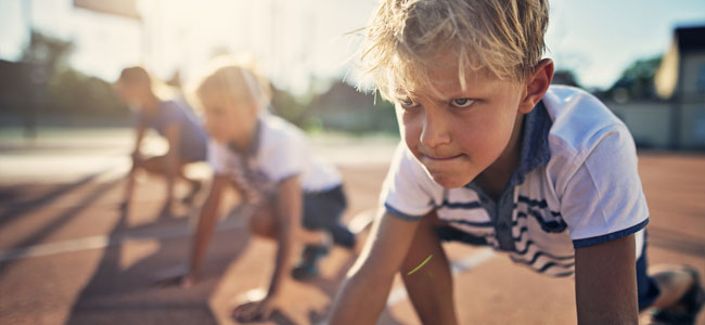 Enseñar a los niños a no rendirse