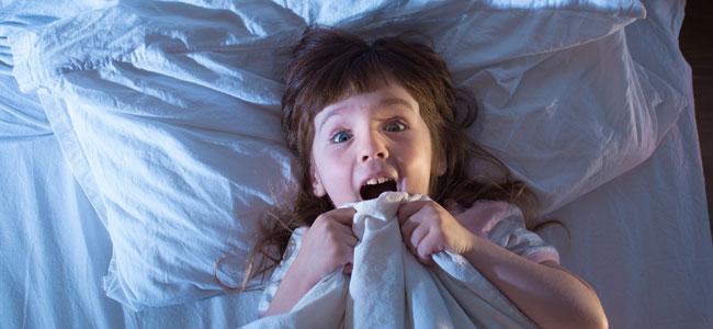 شعور الاطفال بالخوف