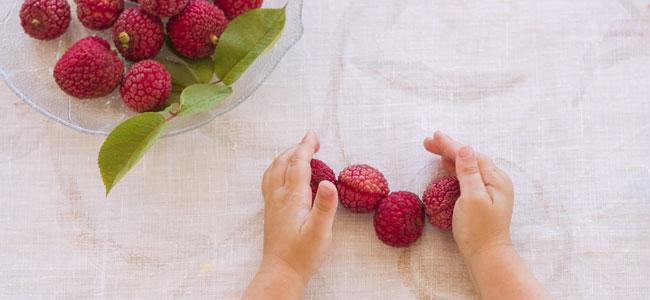 Precauciones con el consumo de lichi para los niños