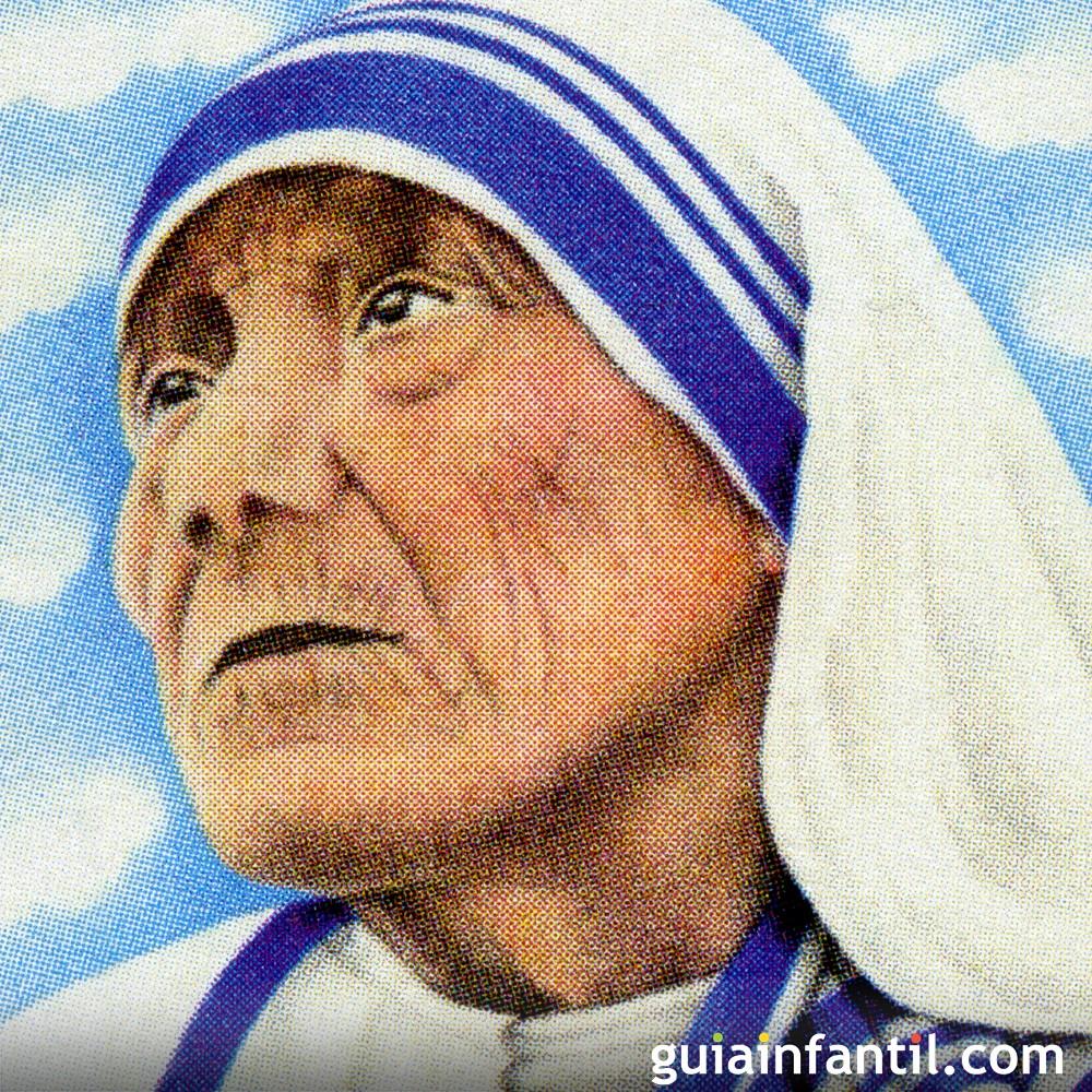 10 frases de la madre Teresa de Calcuta para los niños