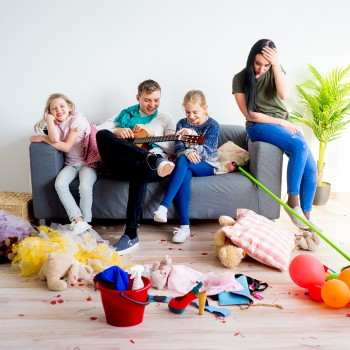 Consejos para padres desordenados que no quieren dar ejemplo a sus hijos