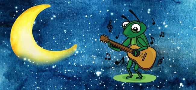 No te pierdas el poema del grillo y de la luna