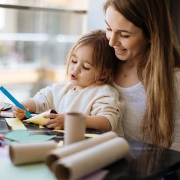16 juegos educativos para hacer con niños menores de 6 años en casa