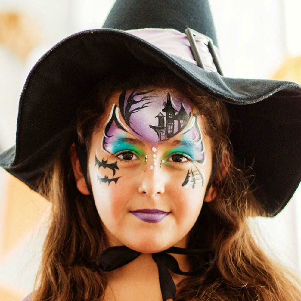 Maquillaje de Pequeña bruja para Halloween