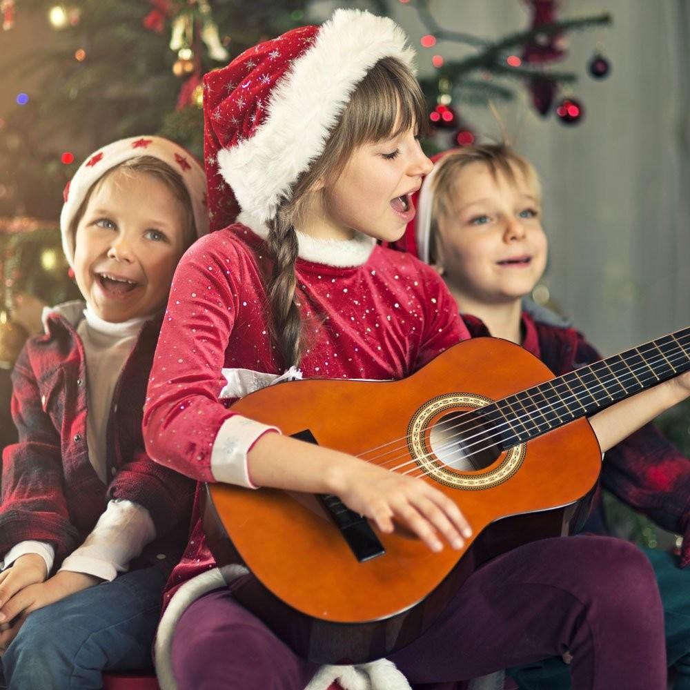 Villancicos En Inglés 7 Letras De Canciones De Navidad Para Los Niños