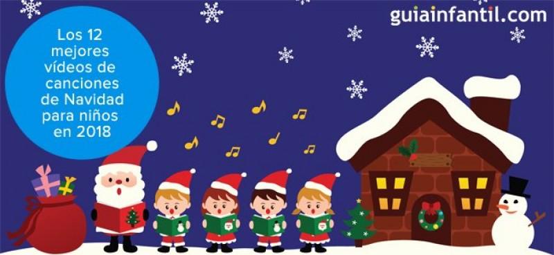 Los 12 mejores vídeos de canciones de Navidad para niños