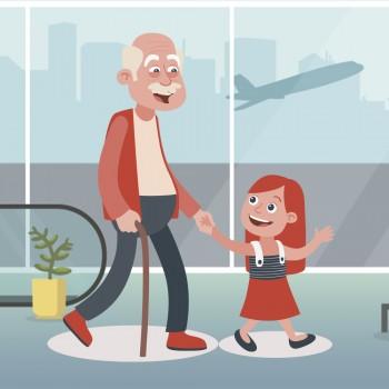 El aeropuerto. Cuento para niños que no cumplen las normas