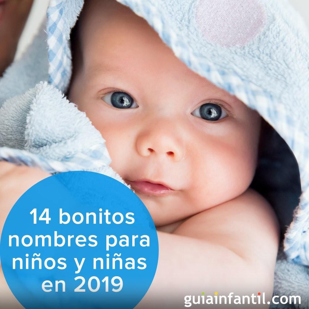 14 bonitos nombres para niños y niñas en 2019