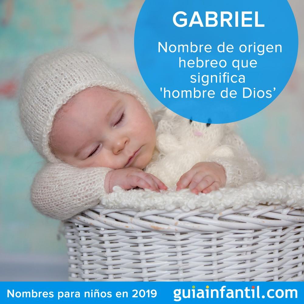 Nombres para niños en 2019: Gabriel