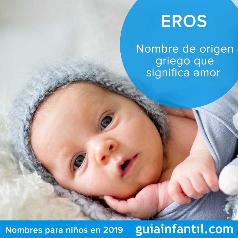 Si buscas un nombre para niño original, elige Eros