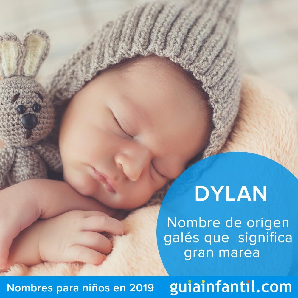 Originales nombres para bebés recién nacidos: Dylan