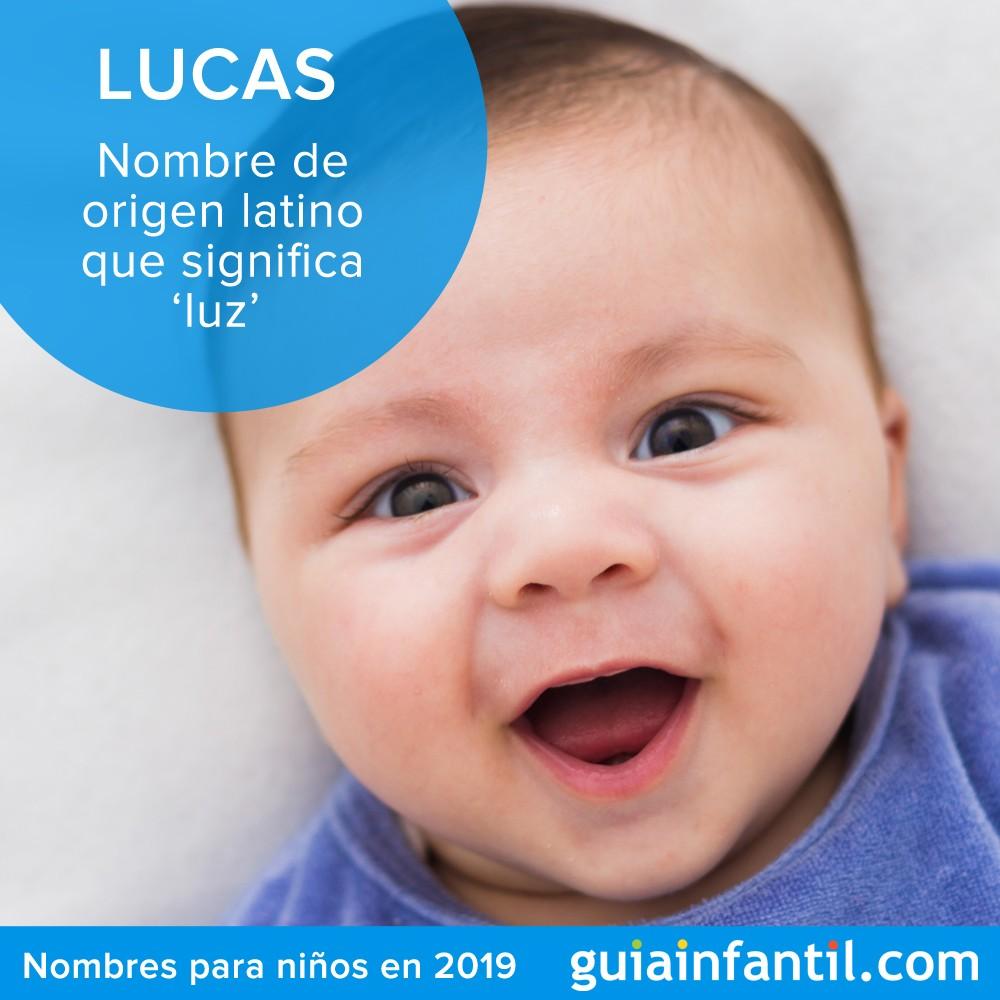 Lucas es un nombre para niños de tendencia en 2019