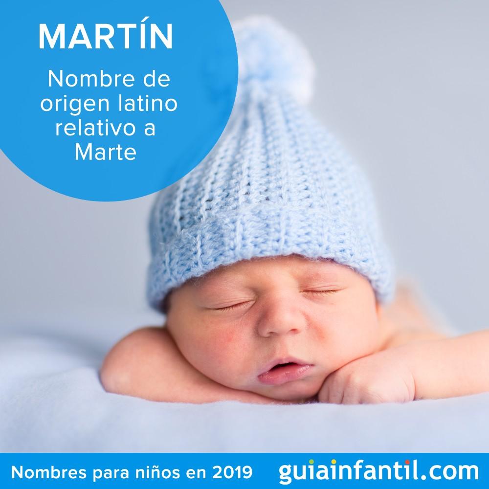 El significado de Martín. Nombres de bebés para 2019