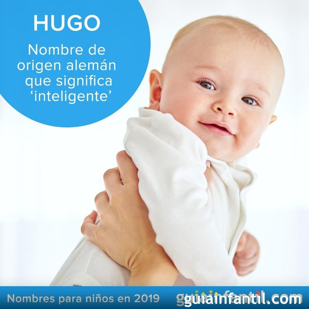 Bonitos nombres para niños en 2019: Hugo