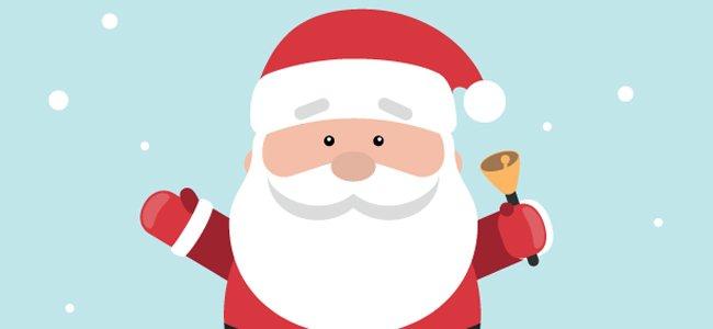 Imagenes De Papa Noel De Navidad.Divertidos Chistes De Papa Noel Para Ninos En Navidad