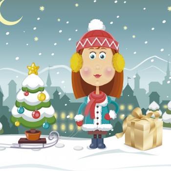 La cajita de besos. Cuento de Navidad para niños sobre el amor
