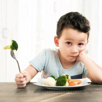 8 alimentos que no les gusta comer a los niños y por qué