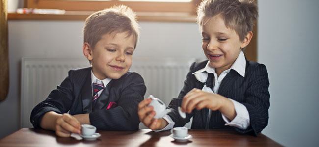 Café o té para los niños, sí o no