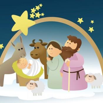 En Belén nació Jesús. Poema sobre el origen de la Navidad