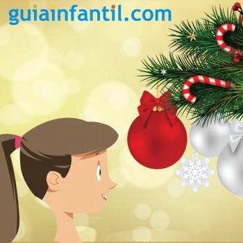 La bola de Navidad. Poema sobre la inocencia de los niños