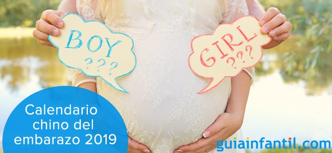 Calendario Chino Embarazo Real.Calendario Chino Del Embarazo 2019 Tu Bebe Va A Ser Nino O