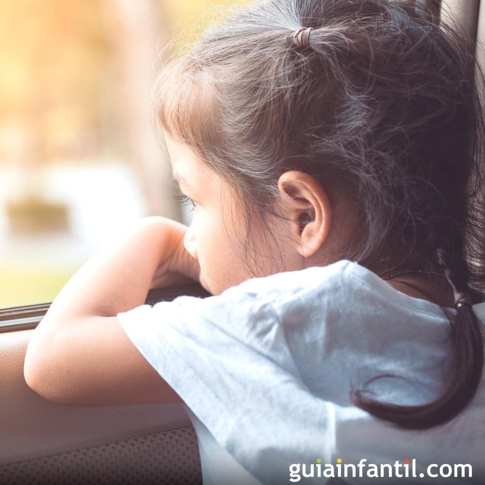 Ejemplos de tristeza para niños