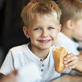 Recetas de bocadillos sanos para la merienda de los niños