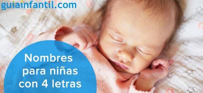 48 Bonitos Nombres Para Niñas Con 4 Letras Que Querrás Poner A Tu Bebé