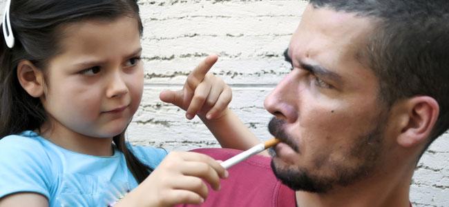 Los niños fumadores pasivos