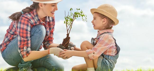 estimular el amor por la naturaleza en los niños