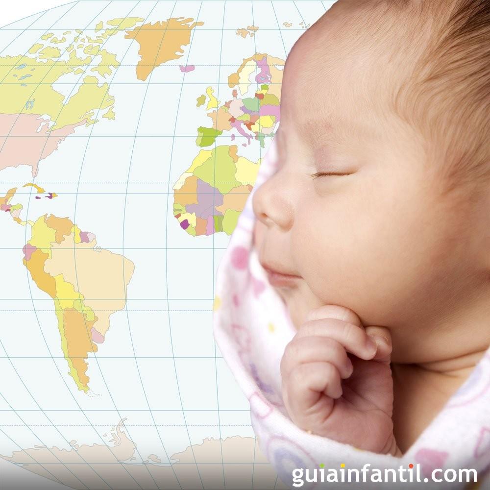 Nombres de ciudades, países y continentes para niñas