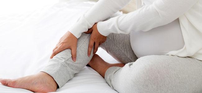 Los calambres durante el embarazo