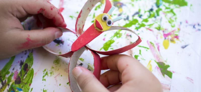 Manualidades Con Materiales De Reciclaje Para Niños
