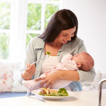 Alimentos que te ayudarán a sentirte mejor tras el parto