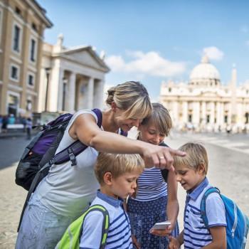 La importancia de viajar con los niños