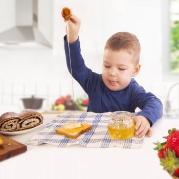 El peligro de dar miel a bebés y niños menores de un año de edad