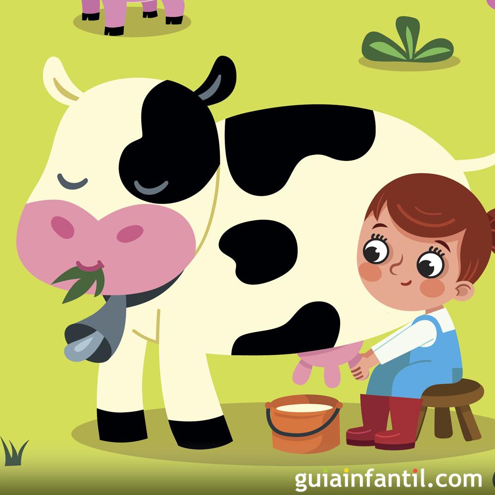 Cancion De La Vaca Lechera Para Niños Hábitos De Niños
